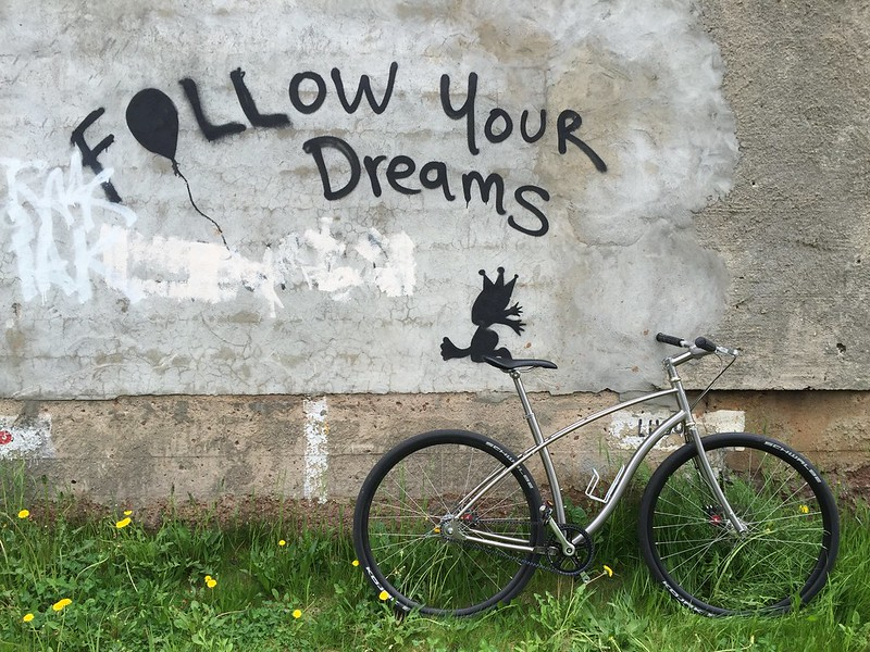 Are you Crazy For Following Your Dreams? (from my diary)