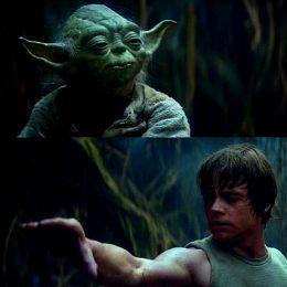 Luke Skywalker using The Power of Belief
